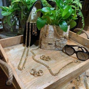 "💥HP💥 Gold Handbag Chain 51"""